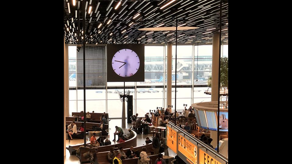 Schiphol Clock - Rob Hodselmans